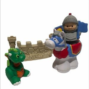 Fisher Price Little People Sir Lance A Lot Knight